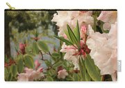 Lake Crescent Lodge Rhododendrons Carry-all Pouch
