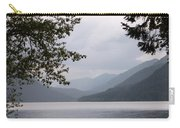 Lake Crescent Through The Trees Carry-all Pouch