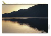 Lake Cresent At Dusk Carry-all Pouch