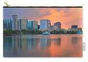 Lake Eola Orlando Sunset Carry-all Pouch