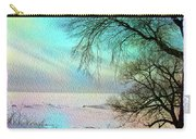 Lake Erie In Winter Carry-all Pouch