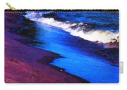 Lake Erie Shore Abstract Carry-all Pouch