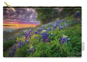 Lake Grapevine Twilight Carry-all Pouch
