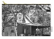 Lake House Black And White Carry-all Pouch