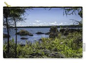 Lake Huron Cedarville Michigan Carry-all Pouch