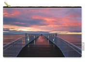 Lake Huron Pier Carry-all Pouch