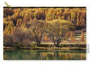 Lake In Autumn - 3 - French Alps Carry-all Pouch