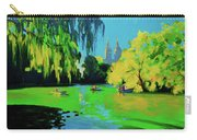 Lake In Central Park Ny Carry-all Pouch