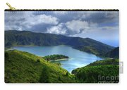 Lake In The Azores Carry-all Pouch