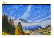 Lake In The Middle Of Swiss Beauty Carry-all Pouch