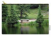 Lake Irene Dressed In Green Carry-all Pouch