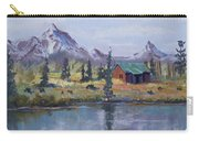 Lake Jenny Cabin Grand Tetons Carry-all Pouch