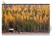Lake Mcdonald Boatshed Carry-all Pouch