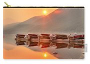 Lake Mcdonald Fiery Sunset Carry-all Pouch