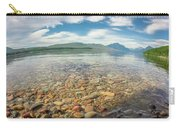 Lake Mcdonald In Glacier National Park At Sunset Carry-all Pouch