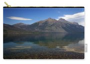 Lake Mcdonald Reflection Glacier National Park 2 Carry-all Pouch