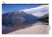 Lake Mcdonald Reflection Glacier National Park 4 Carry-all Pouch