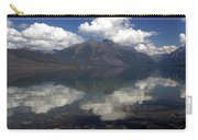 Lake Mcdonald Reflection Glacier National Park Carry-all Pouch