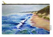 Lake Michigan Beach With Whitecaps Carry-all Pouch
