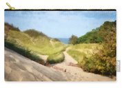 lake Michigan Coastal Dune Path Carry-all Pouch