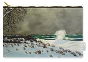 Lake Michigan In The Winter Carry-all Pouch