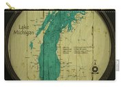 Lake Michigan Map Carry-all Pouch