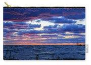 Lake Michigan Windy Sunrise Carry-all Pouch