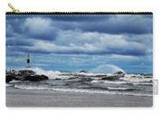 Lake Michigan With Big Wind  Carry-all Pouch