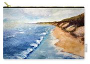 Lake Michigan With Whitecaps Ll Carry-all Pouch