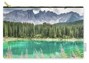 Lake Of Carezza - Italy Carry-all Pouch