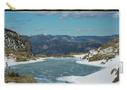 Lake Of Glass Winter Carry-all Pouch