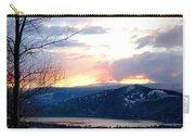Lake Okanagan Sunset At Vernon Carry-all Pouch