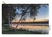 Lake Quannapowitt At Sunset Carry-all Pouch
