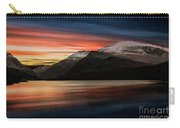 Lake Sunset Snowdonia Carry-all Pouch