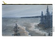 Lake Superior North Shore Waves  Carry-all Pouch