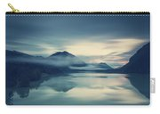 Lake Sylvenstein In The Evening Carry-all Pouch