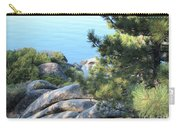 Lake Tahoe And Boulders Carry-all Pouch
