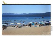 Lake Tahoe Beach Scene Carry-all Pouch