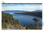 Lake Tahoe Emerald Bay Panorama Carry-all Pouch