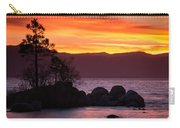 Lake Tahoe Sunset Colors Carry-all Pouch