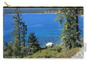 Lake Tahoe With Mountains Carry-all Pouch