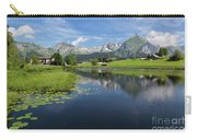 Lake Vorderer Schwendisee Carry-all Pouch by Yair Karelic