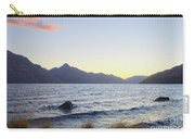 Lake Wakatipu At Sunset Carry-all Pouch