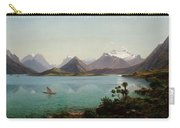 Lake Wakatipu With Mount Earnslaw. Middle Island New Zealand Carry-all Pouch