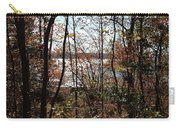 Lake Wallenpaupack Through The Trees Carry-all Pouch