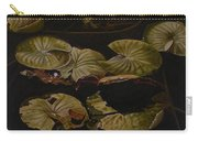 Lake Washington Lily Pad 9 Carry-all Pouch