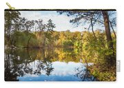 Lake Waterford Fall - Watercolor Fx Carry-all Pouch
