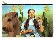 Lakeland Terrier Art Canvas Print - The Wizard Of Oz Movie Poster Carry-all Pouch