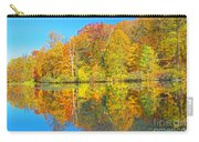 Lakeside Autumn Reflections Nj Carry-all Pouch