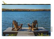 Lakeside Seating For Two Carry-all Pouch